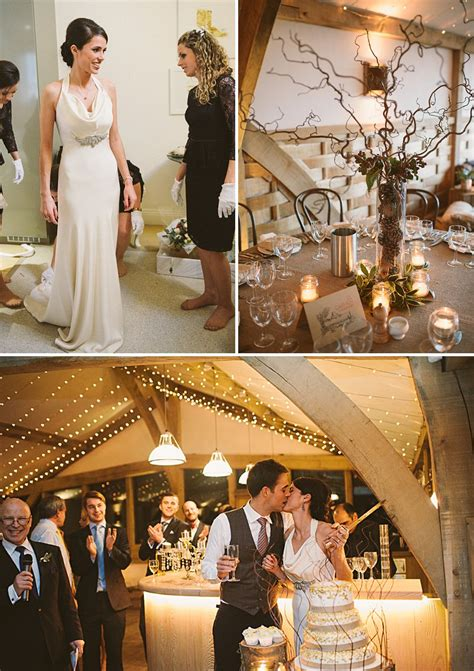 rustic winter wedding new a rustic winter wedding at cripps barn with diy home made