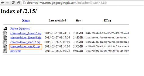 chrome driver download running selenium webdriver test in google chrome