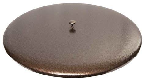 pit table metal cover 22 quot copper vein