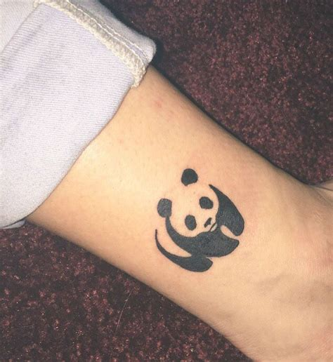 small panda tattoo 17 best ideas about panda tattoos on mandala