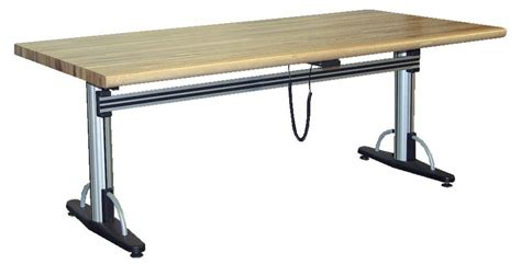 adjustable height work table industrial desks metal desks warehouse desks