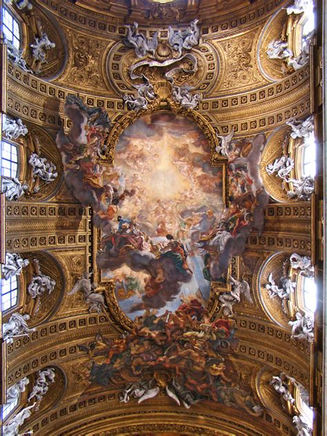 Who Began The Tradition Of Illusionistic Ceiling Painting by Illusionism