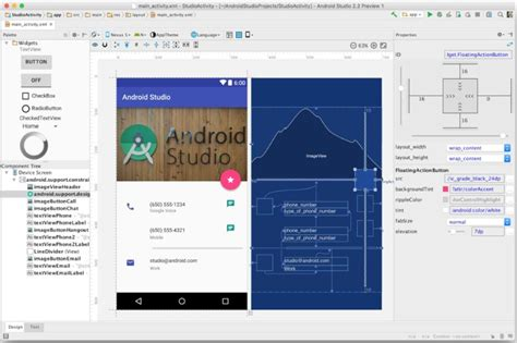 android studio layout large google releases android studio 2 2 preview