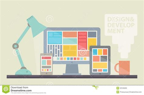 design web layout illustrator web design development illustration stock photo image