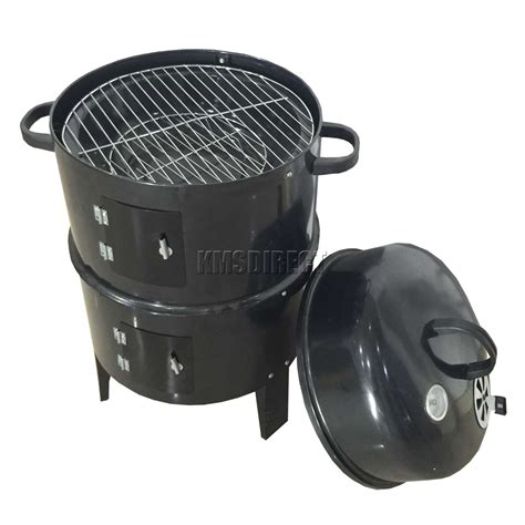 barbecue smoker grill foxhunter black bbq charcoal grill barbecue smoker garden
