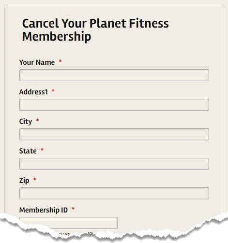 exle cancellation letter for planet fitness how to cancel a membership permanently at planet fitness