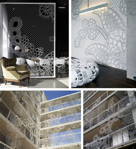 Lace Interior Design by Lace Fence Famille Summerbelle