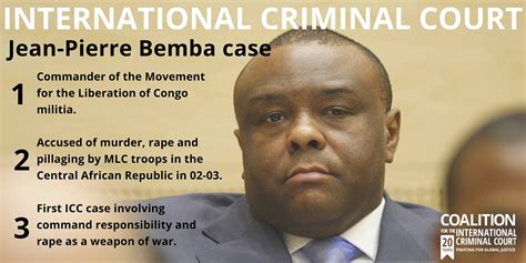 Be Mba by Bemba Verdict Icc Command Responsibility Trial