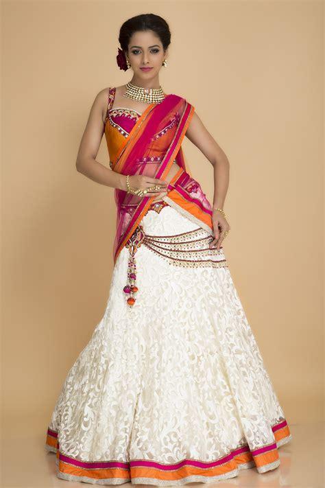 net pattern gown buy online white net lehenga by indian designer deepika chopra