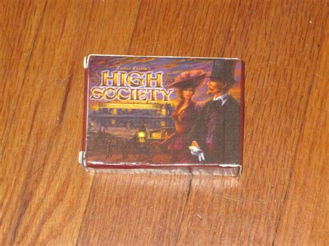 Book Review High Society By by Dusty 10 High Society Review