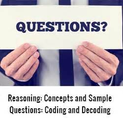 The Pocket Mba Concepts And Strategies by Reasoning Concepts And Sle Questions Coding And Decoding