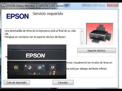 reset l210 video como resetear how to reset epson l110 l210 l300 l350 l355