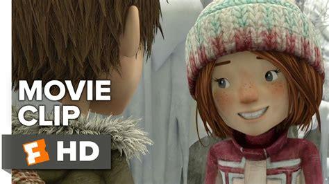 film anime kiss snowtime movie clip first kiss 2016 animated movie