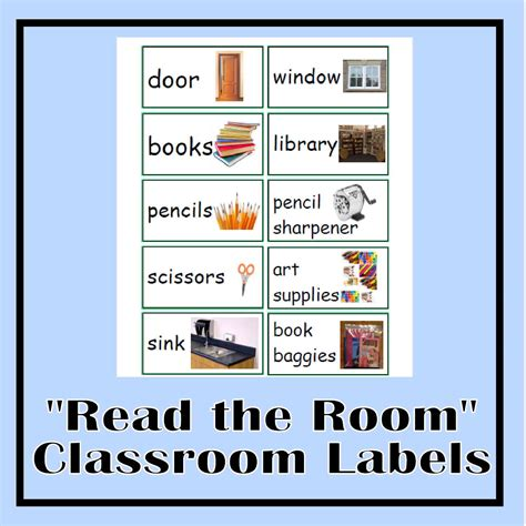 read the room read the room classroom labels the curriculum corner 123