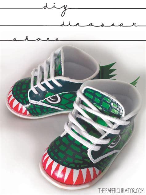 diy toddler shoes diy dinosaur toddler shoes