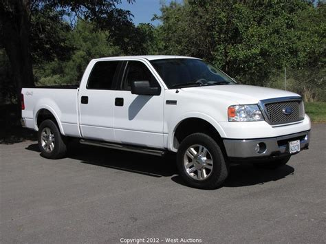 2006 Ford Truck by West Auctions Auction 2006 Ford F 150 Lariat 4 Wheel