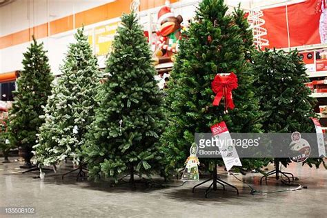 home depot artificial christmas tree sales home depot decorations stock photos and pictures getty images