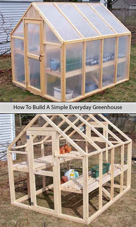 how to build a green house how to build a simple everyday greenhouse