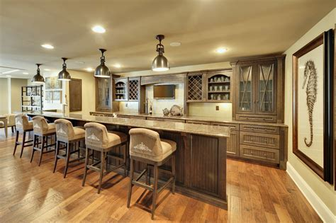 Basement bar cabinet ideas home bar contemporary with