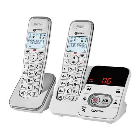 telefon fã r zuhause schnurloses gro 223 tasten telefon duo g 252 nstig bei eurotops