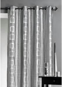 rideau d ameublement argent 233 motifs carr 233 s gris