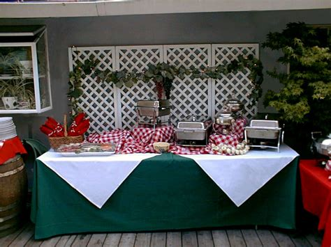 Patio Buffet Table by C Amp M Party