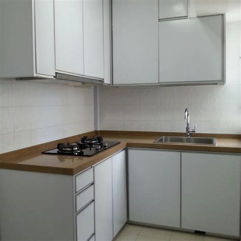 aluminium kitchen cabinet aluminium kitchen cabinet home furniture on carousell