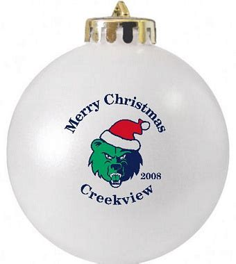 school christmas ornament