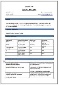 Format Of Resume For Experienced Good Resume Format For Experienced 571 Http Topresume