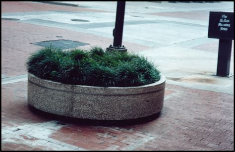 Planter Bollards by Architectural Fiberglass Planter Bollards