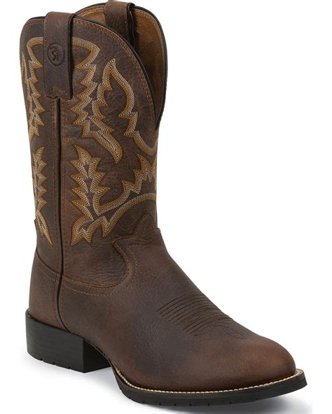 mens pink boots tony lama 3r pitstop cowboy boots toe country
