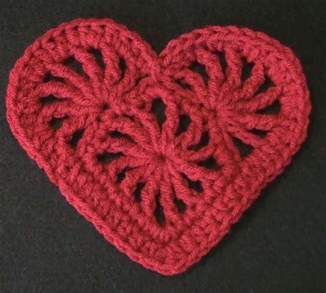 pattern of heart in crochet crochet heart felicity