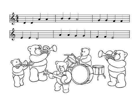 musical instrument coloring book pages free coloring pages of musical instruments