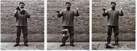 Ai Weiwei Breaking Vase by Snapshot Of The World Kiev Burns Thames Floods Mass