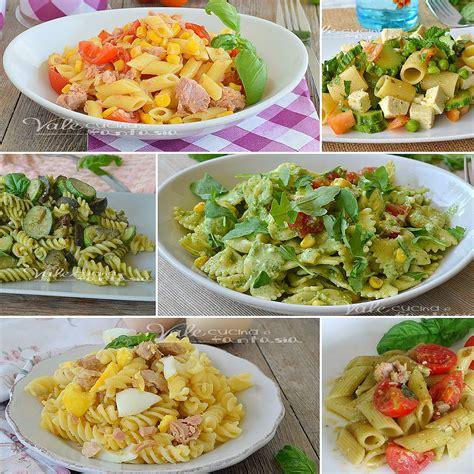 paste veloci da cucinare pasta fredda ricette facili e veloci ricette pasta