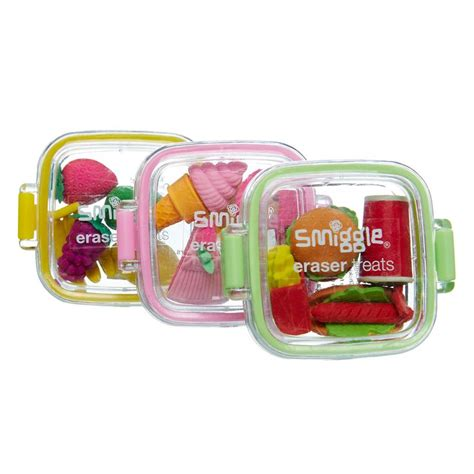 treats eraser mini pack smiggle products boxes shops and foodies