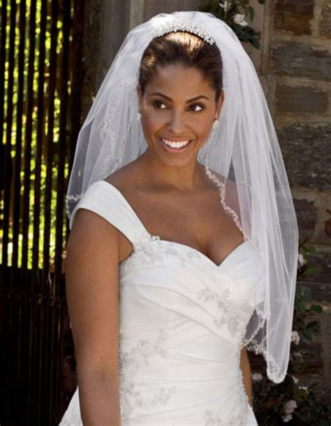 Black Wedding Hairstyles With Veil by American Wedding Hairstyles Hairstyles