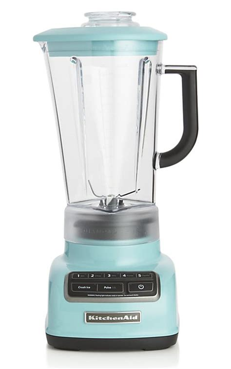 Kitchenaid Blender Lights Kitchenaid 5 Speed Aqua Sky Vortex Blender