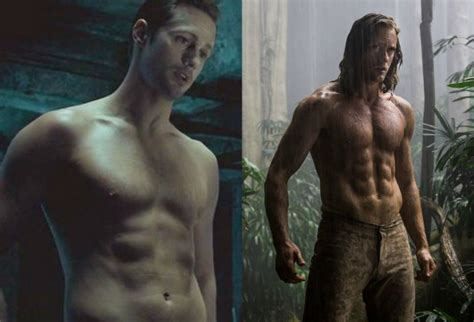 james mcavoy wanted workout alexander skarsgard supplements used for tarzan