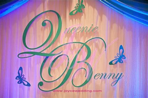 Wedding Backdrop With Names by 17 Best Images About Backdrop Names On
