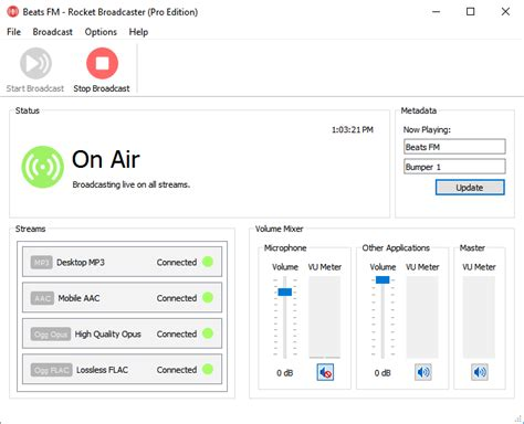 Divshare Streams Your Mp3 Files For Free by Rocket Broadcaster Home
