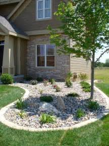 River Rock Landscaping Pictures 25 Best Ideas About River Rock Landscaping On