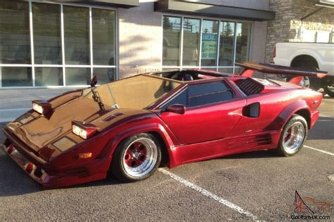 Kit Car Manufacturers Lamborghini 1989 Lamborghini Countach Kit Car Great Engine Runs Well