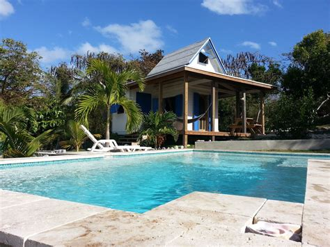 Cottages With Pools Waterfront Cottage With Pool Tamarind Tree Vrbo
