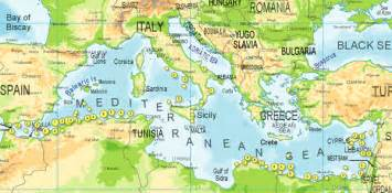 Mediterranean Sea On World Map by Mediterranean Sea On World Map Images Amp Pictures Becuo