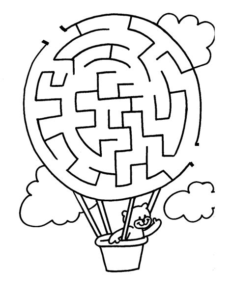 printable maze for preschoolers free printable mazes kindergarten pinterest maze