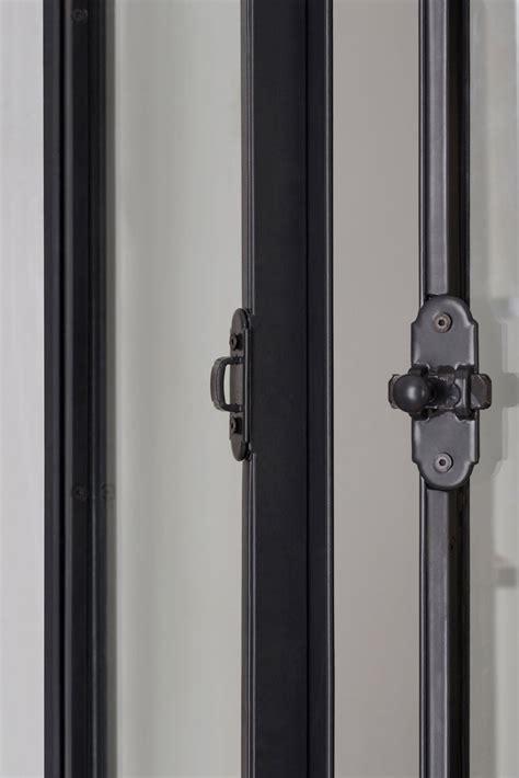 loquet de porte coulissante fen 234 tre en acier de style atelier d artiste battante ou