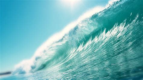 lovely hd wave wallpapers
