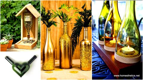 wine bottle craft projects 26 wine bottle crafts to your guests beautifully