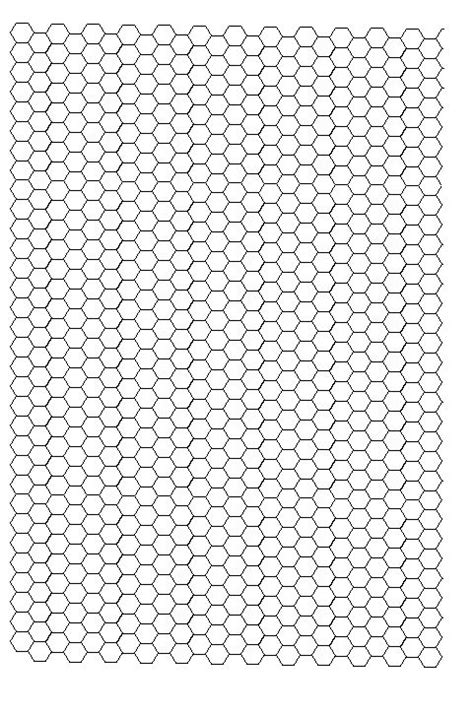 printable graph paper hexagon hex grid paper printable search results fun coloring pages